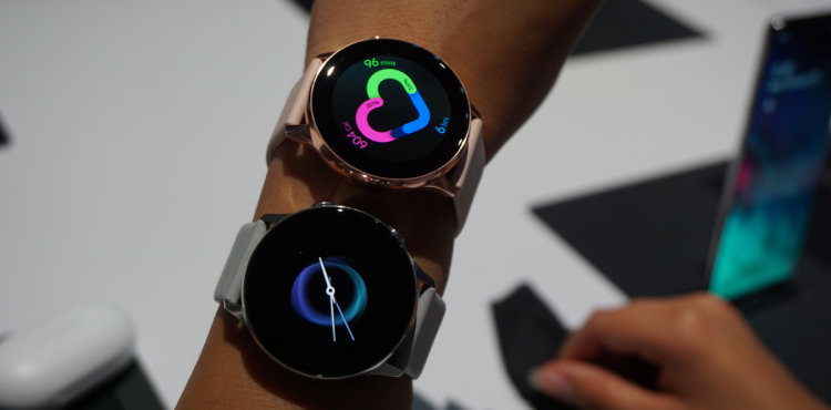 First look at Samsung's sleek Galaxy Watch Active
