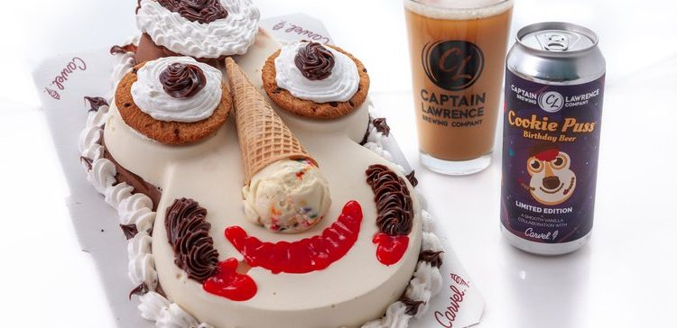 Carvel and Captain Lawrence Brewing launch Cookie Puss beers